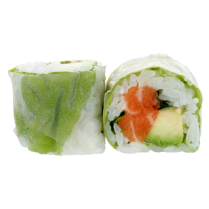 Spring roll saumon, avocat